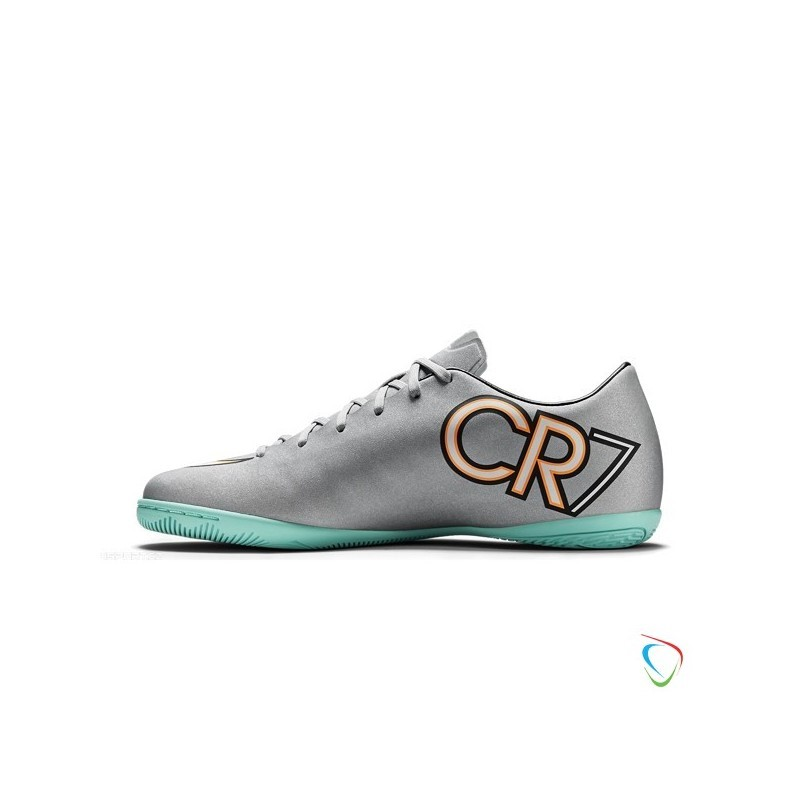 Nike Mercurial Victory V Fg Cr7 Metallic Silver Hyper Turquoise