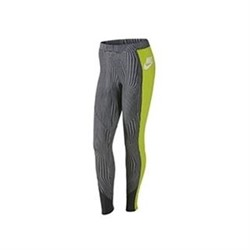 Nike RU FLY LEGGINGS White Cyber Anthracite